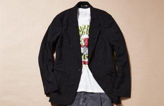 プリントでハズす!ジャケット&Tシャツのおしゃれコーデ#14