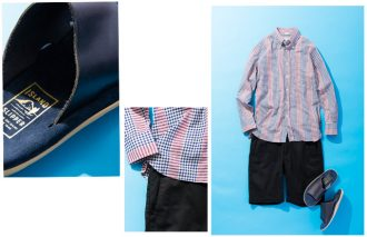 粋なブランドで、大人なシャツと短パンとサンダル コーデに! #12