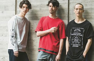 「グラフィックTシャツ」でつくる初夏の大人ストリート
