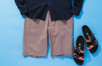 大人の短パン×サンダル作法「ヨコ乗り系を品よく着こなす」