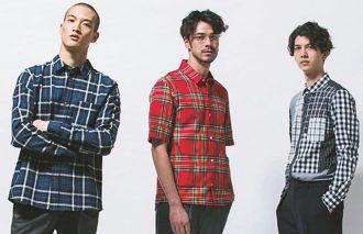 男らしさ香る初夏のコーデ チェックシャツ + トラウザー + ローファー