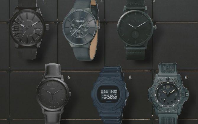 4万円台で選ぶ腕時計〜男の腕元は黒で締める!ブラックウオッチ集〜