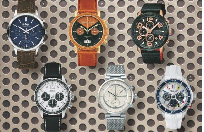 予算5万円で選ぶ腕時計【かっこいいクロノグラフ6選】