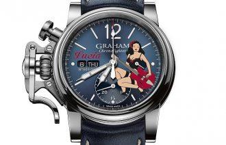 ポップカルチャーと機械時計のマリアージュ!GRAHAM(グラハムの2018年モデル