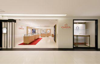 百貨店ショップinショップで日本最大!オメガショップ西武池袋オープン!