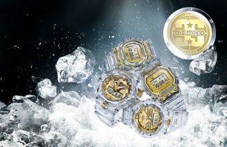 氷河を表現!G-SHOCK誕生35周年記念モデル「GLACIER GOLD」発売!