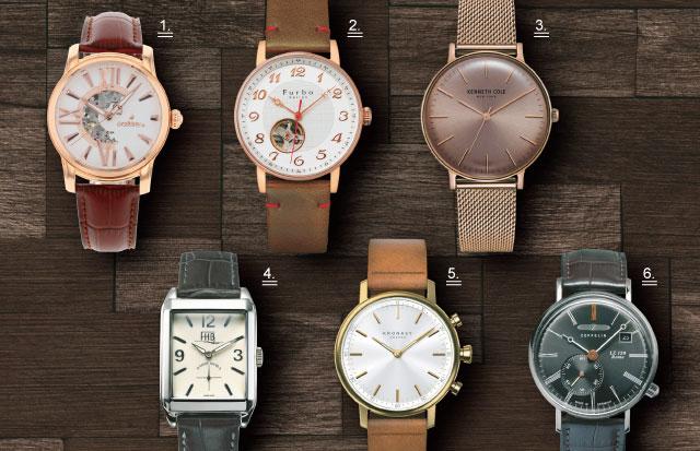 4万円台までで買う!クラシックな大人の腕時計6選