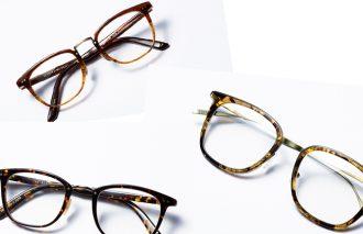 コーデをワンランク格上げするこの夏の新作細めウエリントンメガネ3本を厳選
