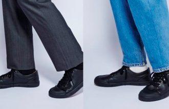 履き心地はスニーカー、見た目は革靴のシューズなら二刀流で履ける