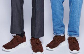 革靴メーカーならではのノウハウが詰め込まれたONでもOFFでも履ける優秀なシューズ