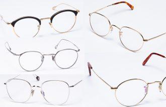 今旬のメタルフレームメガネならON/OFFの両方でスマートな印象に導いてくれる