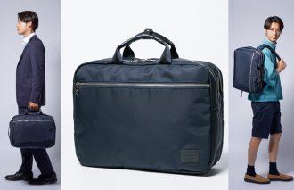 使い勝手抜群なハンドル&バックパックの両A面型バッグ【NAUGHTIAM/ノーティアム】