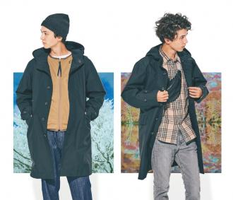 〈ザ・ノース・フェイス〉のテックコートなら今から真冬まで着回せる