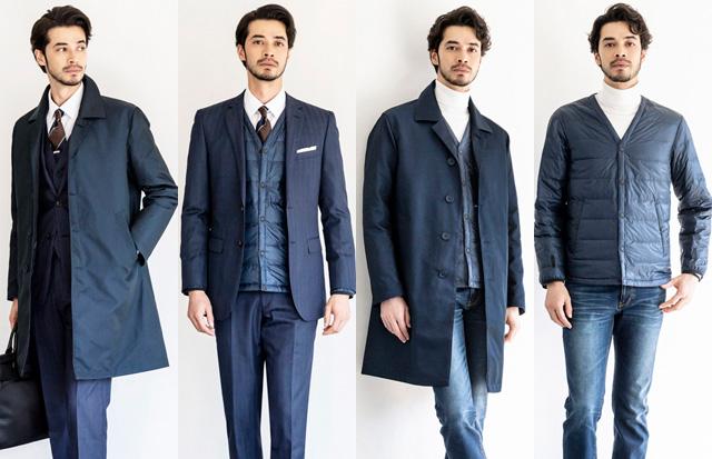 ビズもカジュアルも、秋も冬も春も、しかもコラボ!このコートは買いだ。