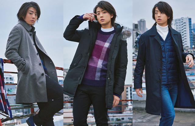 『今日から俺は !!』で活躍中の伊藤健太郎が着こなす!旬のアウター4選