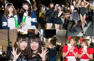 ハロウィンの渋谷はコスプレ美女だらけ!! 露出多め、超セクシー、キュートな仮装女子たちをキャッチ