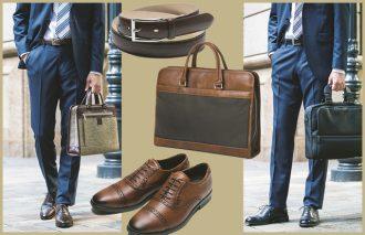 ビジネススタイルは小物使いが9割!ベルト、シューズ、バッグの最旬