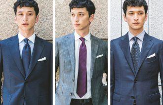 ビジネススタイルの定番を一気今っぽくできるシャツ&ネクタイ アップデート術