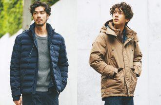 ダウンジャケットはワイルドに着こなすか?クリーンに着こなすか、冬の二択