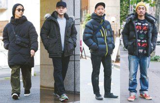 今冬のアウター 街の着用ランキングNo.1は「ダウンジャケット」