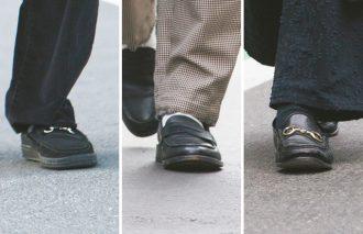 2019年冬の足元はクラシックテイストな革靴も見逃せないファクター【街のスナップで発覚】