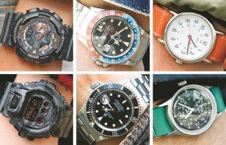【2019冬の小物データファイル】この冬一番街で一番人気の腕時計はロレックス? Gショック? タイメックス?