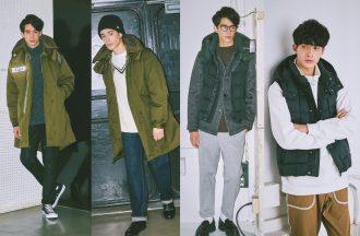 春でも着れる人気アウターを2パターンで上手に着まわす