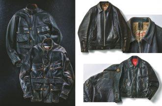 「レザージャケット」の経年変化を見る!使い込んで育て上げた逸品がコレ