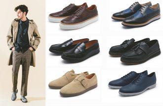 スニーカーの履き心地をもったハイブリッド革靴が大人スタイル
