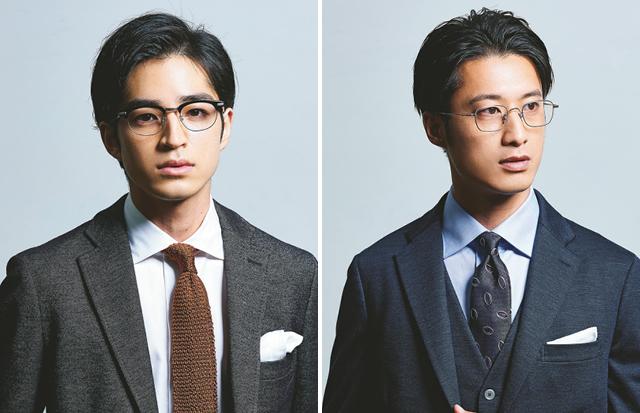 ビジネスシーンでのおしゃれメガネの選択 スーツ派は○○、ジャケパン派は○○