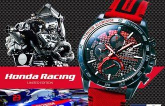 """「Honda Racing」と""""EDIFICE""""のコラボレーションモデル第二弾"""