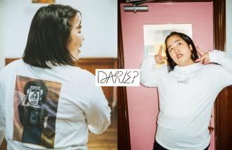 この芸人、一体だあれ?アパレルブランド「DARE?」発表 ~ 知的障害のあるアーティストが描く見たこともない、吉本芸人の肖像画 ~ 河本準一(次長課長)、田村 裕(麒麟)、ゆりやんレトリィバァ、レイザーラモンHG