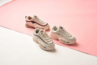 ⼥性の為のスニーカーセレクトショップ「atmos pink」で『FILA GAUNTLET』の限定カラーを発売!