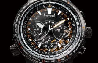 『シチズン プロマスター』 ブランド誕生30 周年を記念した限定パイロットウオッチ