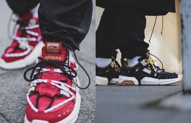 中国のナショナルブランド<LI-NING>と東京のスニーカー文化を世界に発信する<atmos>のコラボモデル