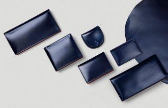 一つひとつを人の手で作り上げる革製品にこだわる【土屋鞄】が人気の「コードバン」シリーズに限定色「ブルー」登場!