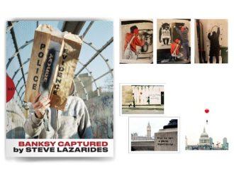 今や日本でしか手に入らない幻の1冊を数量限定先行予約受付中! 世界的に有名な覆面アーティスト・バンクシー本人をとらえた作品集 『BANKSY CAPTURED by STEVE LAZARIDES』